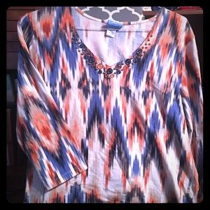Tops - Cute Laura Lane blouse XL but fits like a L